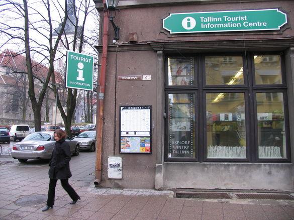 Tallinn tourist information centre, vanalinna tik, tik, turismiinfokeskus