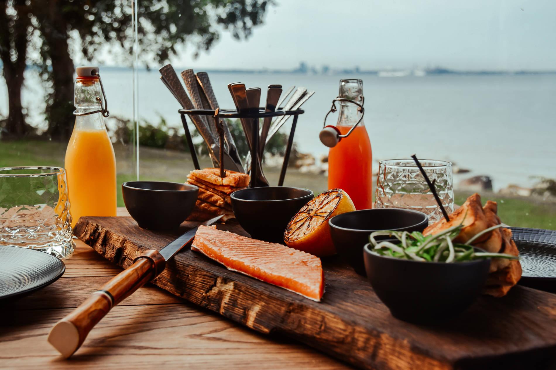 Eesti toit ja merevaade