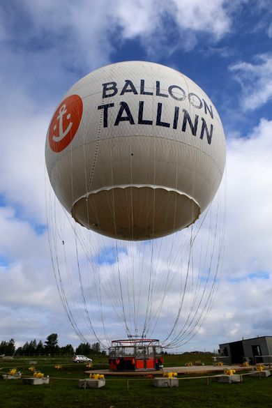 Balloon Tallinn offers helicopter flights in the new season