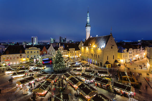For several weeks each winter Tallinn's Town Hall Square is filled with an elaborate Christmas Market where visitors can buy gifts, listen to concerts, meet Santa or drink hot, spiced wine. Records show that merchants from the Brotherhood of Black Heads guild installed a spruce on Town Hall Square in 1441, making it one of the first public Christmas trees in Europe. It's no wonder that people from all over the world come to see the market – it turns the city into a true fairytale scene. Even CNN has named the Tallinn Christmas Market one of the most beautiful markets in the world.
