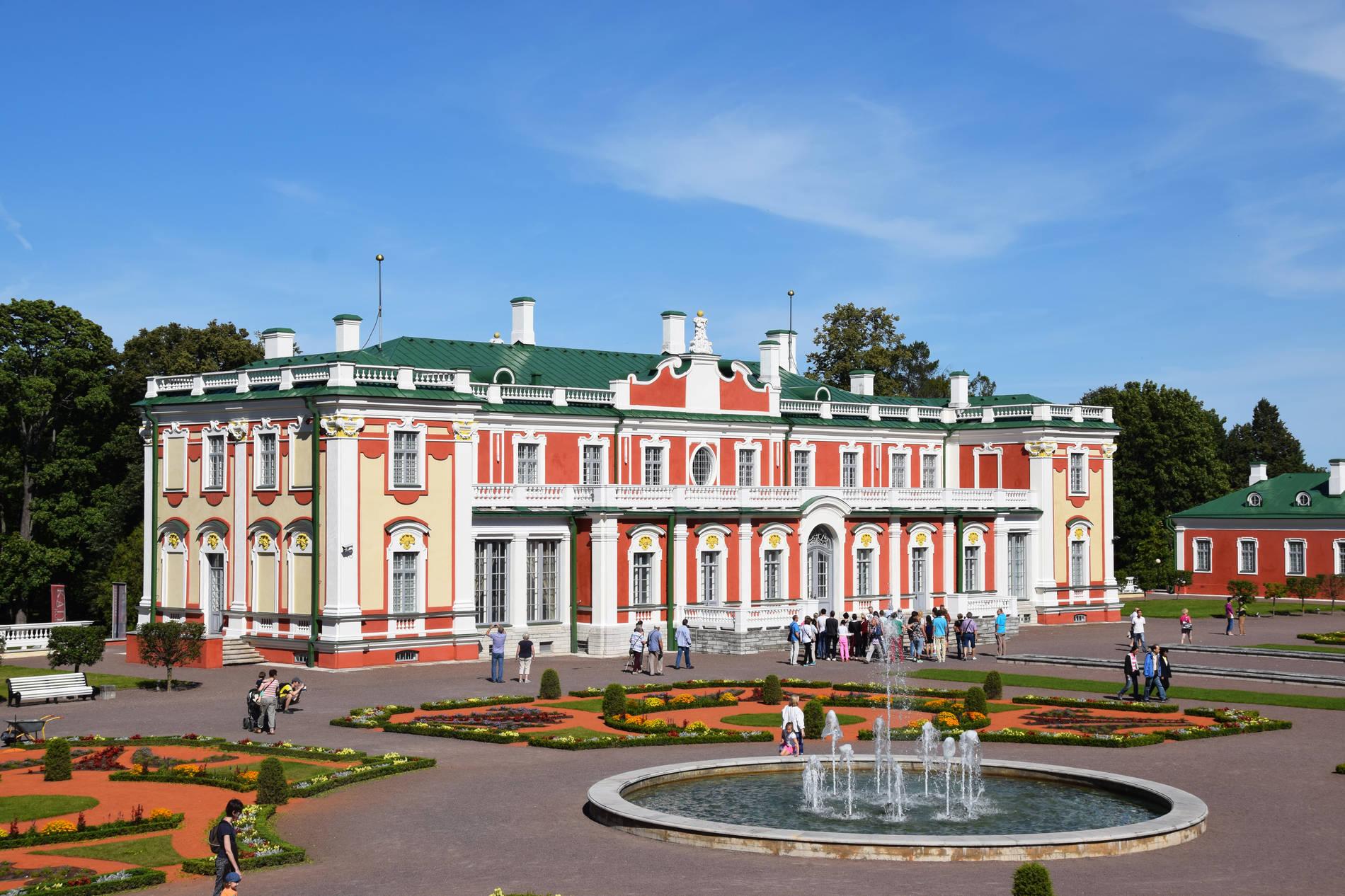Kadriorg Palace in Kadriorg, Tallinn, Estonia