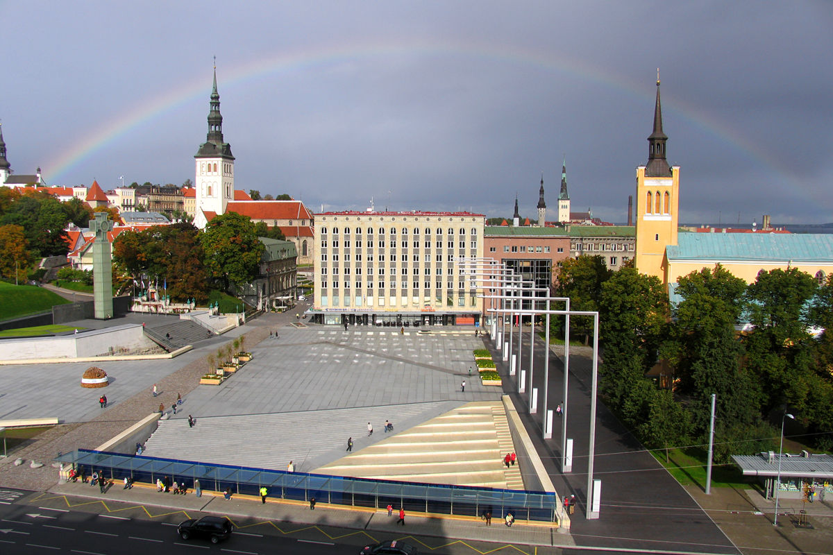 Vapaudenaukio Tallinnassa