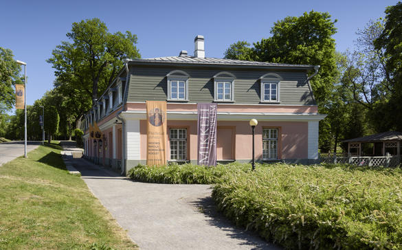 External view of the Mikkel Museum in Tallinn, Estonia.