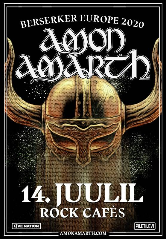 AMON AMARTH - Berserker World Tour