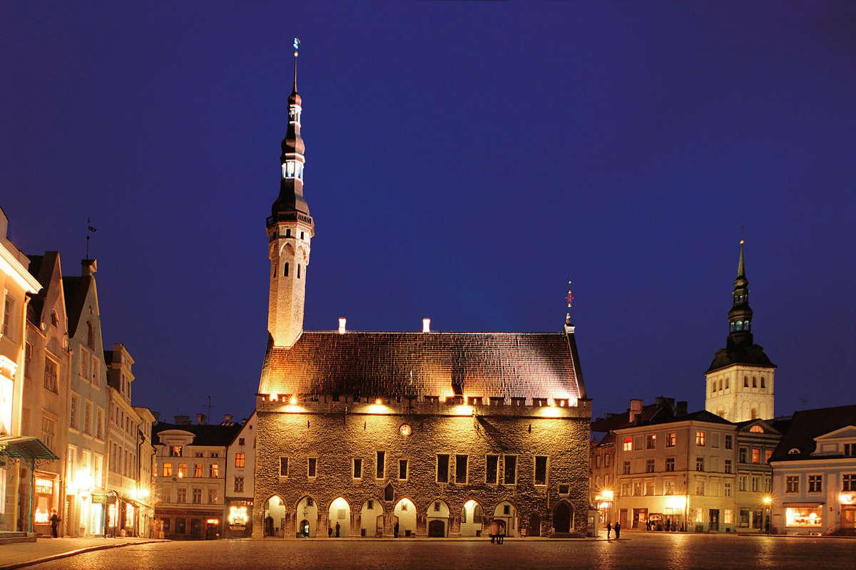 Tallinn Town Hall in Estonia