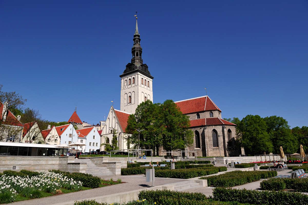 Kuva Nigulisten museosta Tallinnan vanhassakaupungissa Virossa.
