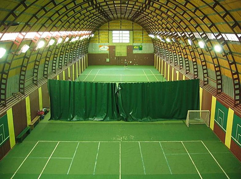 Nõmme Tennis Centre in Tallinn,Estonia