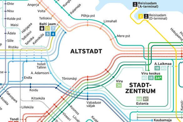 Transpordi kaart 2015 saksa