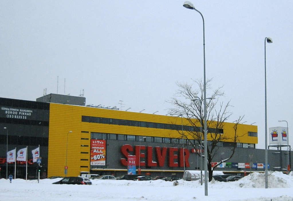 Järve Shopping Centre In Tallinn,Estonia