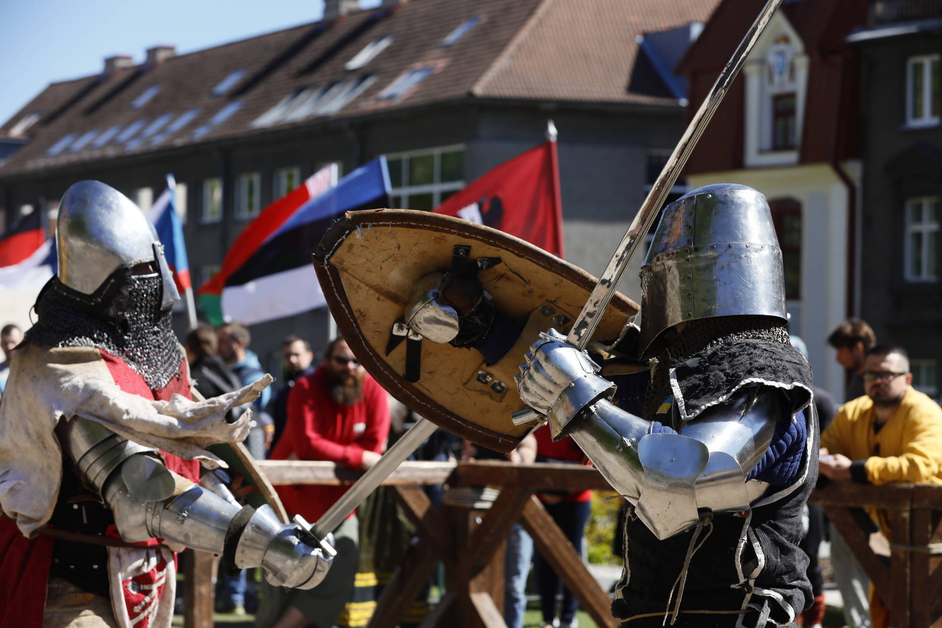 Knights at the Tallinn Old Town Days
