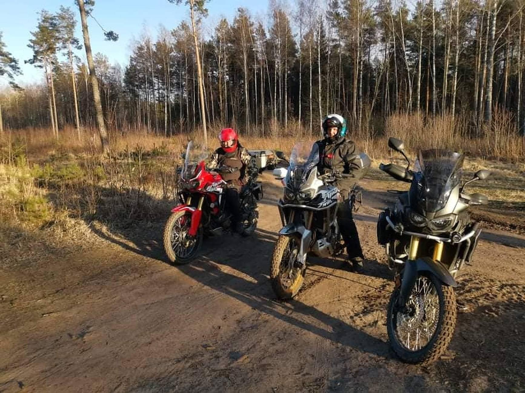 safari bikes view