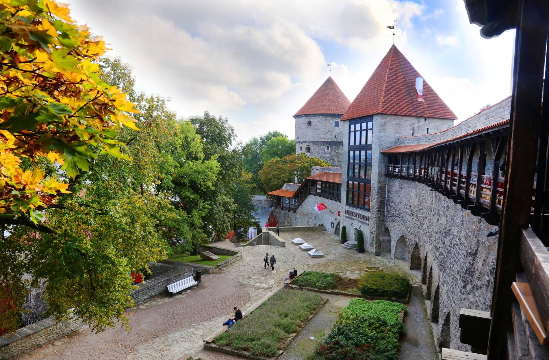 Kiek in de Kök Fortifications Museum and Maiden's Tower in Tallinn, Estonia