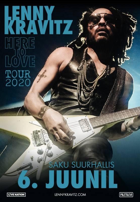 LENNY KRAVITZ - Here To Love Tour