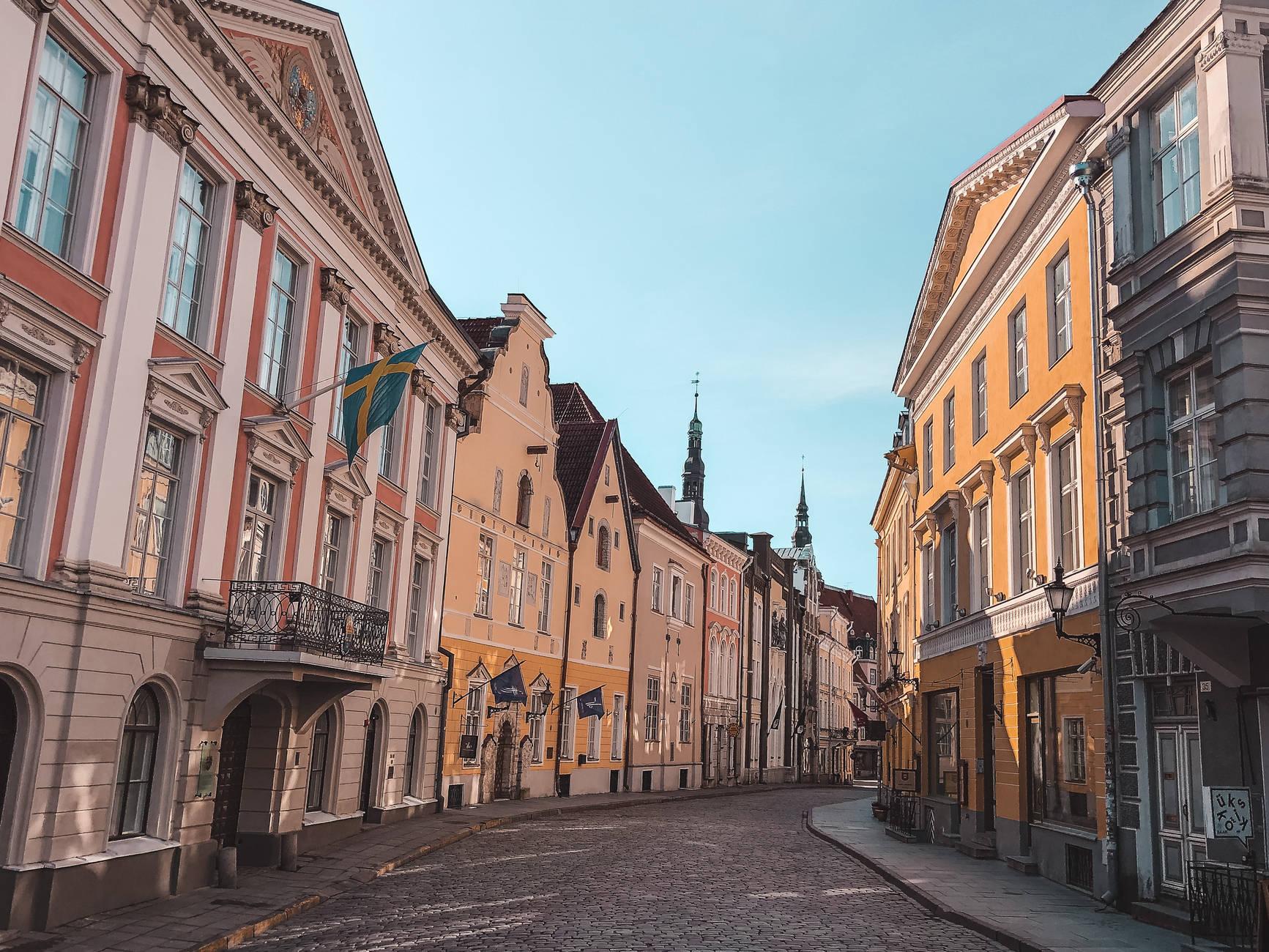 Tühjad Tallinna tänavad