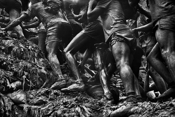 "Exhibition ""Gold"" by Seastiao Salgado in the Fotografiska museum in Tallinn, Estonia"