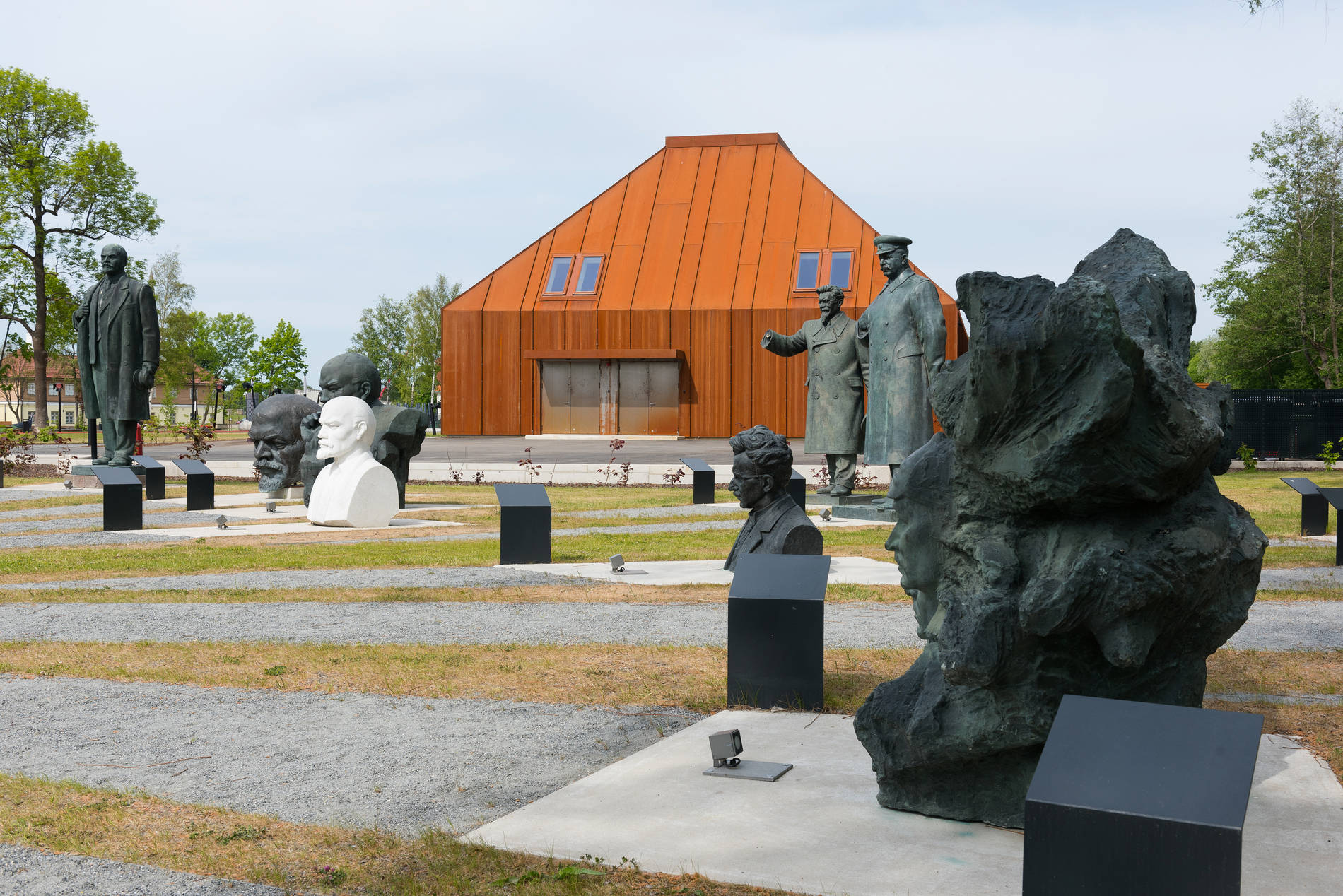 Exhibition of Soviet monuments in Tallinn, Estonia