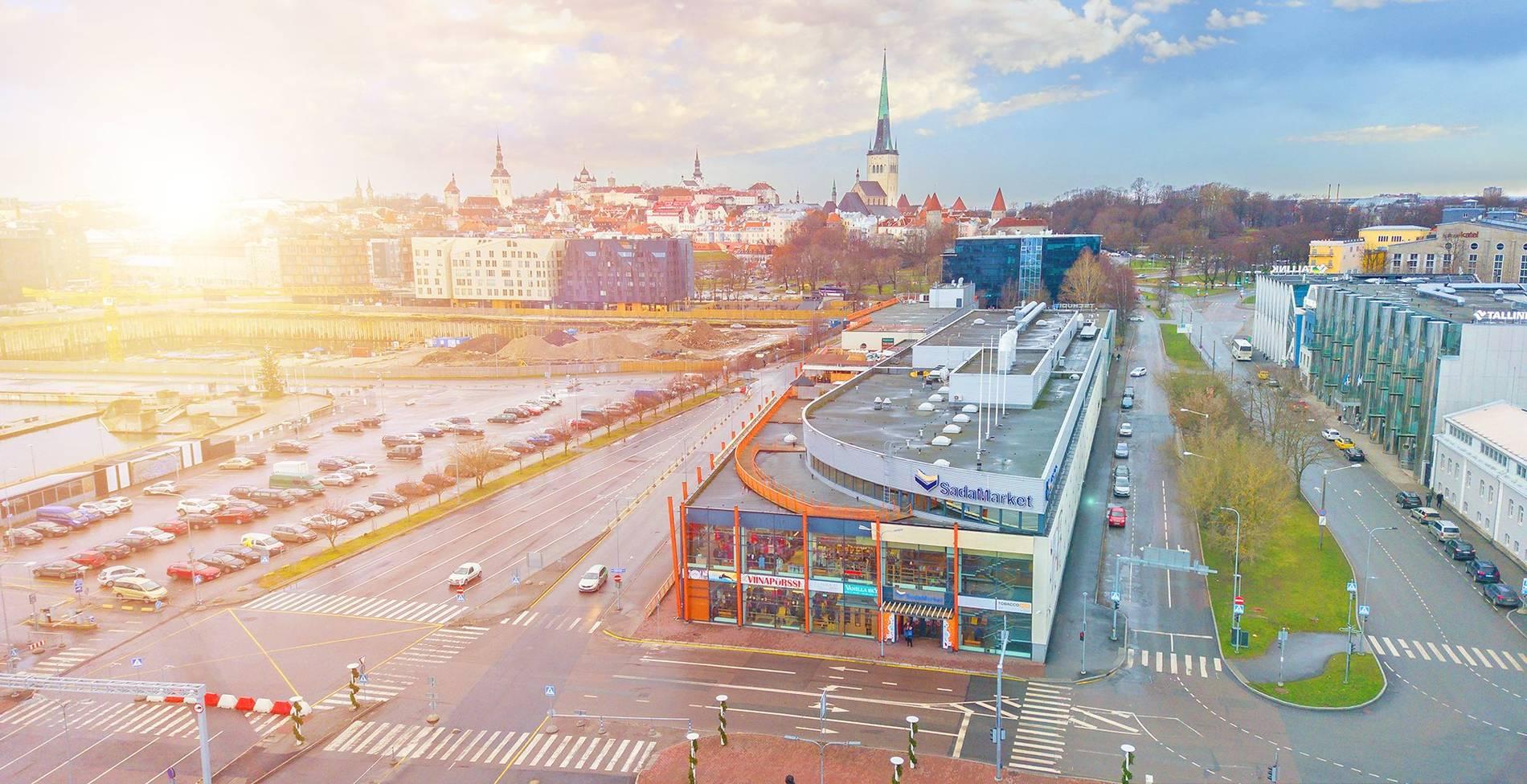 Sadamarket in Tallinn,Estonia