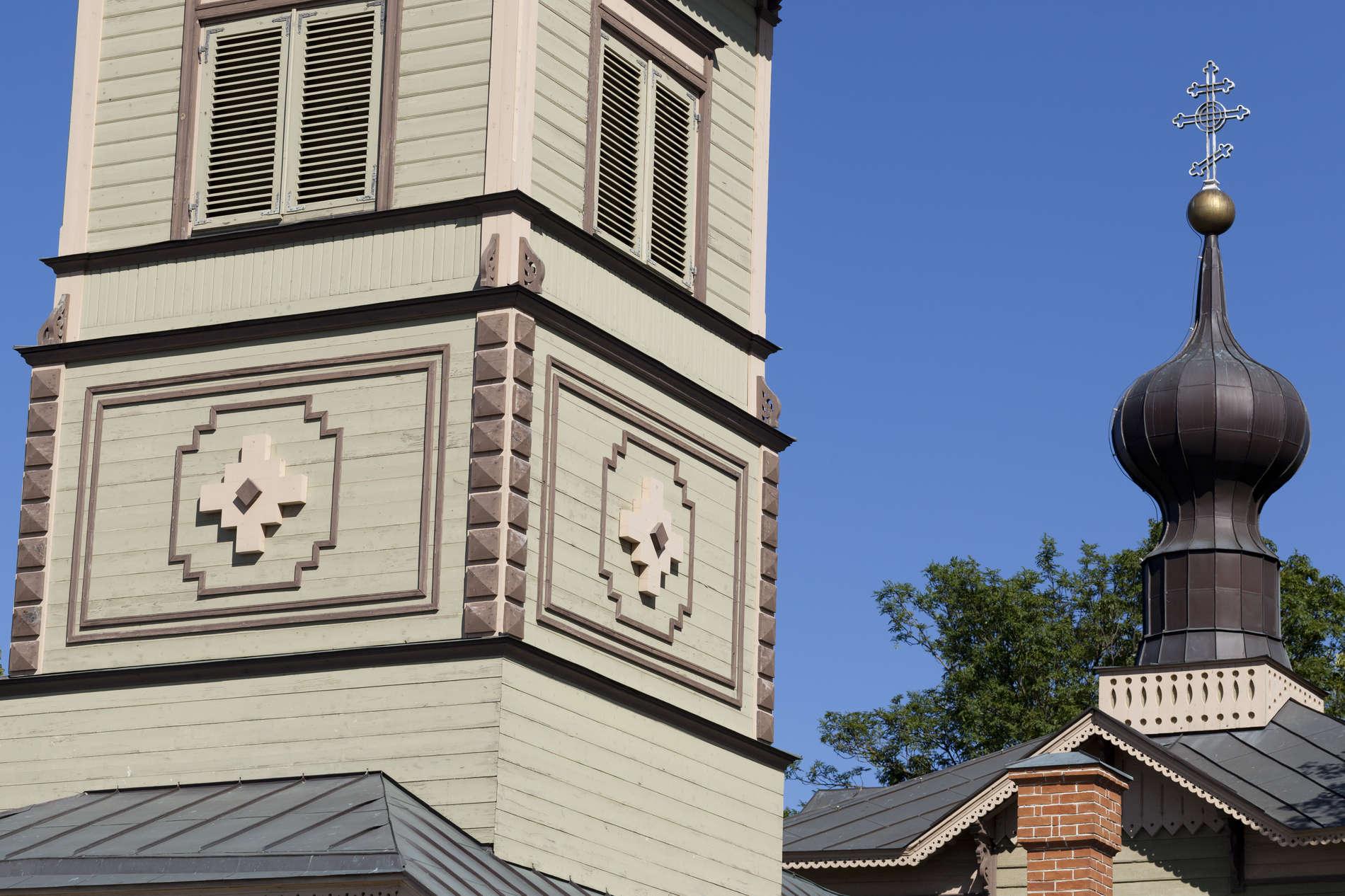 Church of St. Simeon and the Prophetess Hanna in Tallinn, Estonia