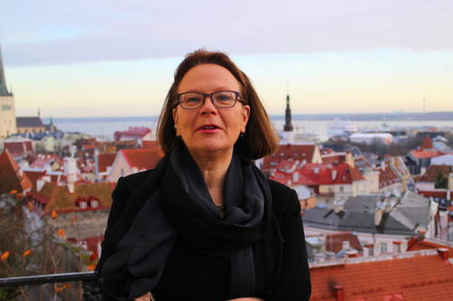 Kirsti Narinen's important meetings on top of the Toompea hill in Tallinn