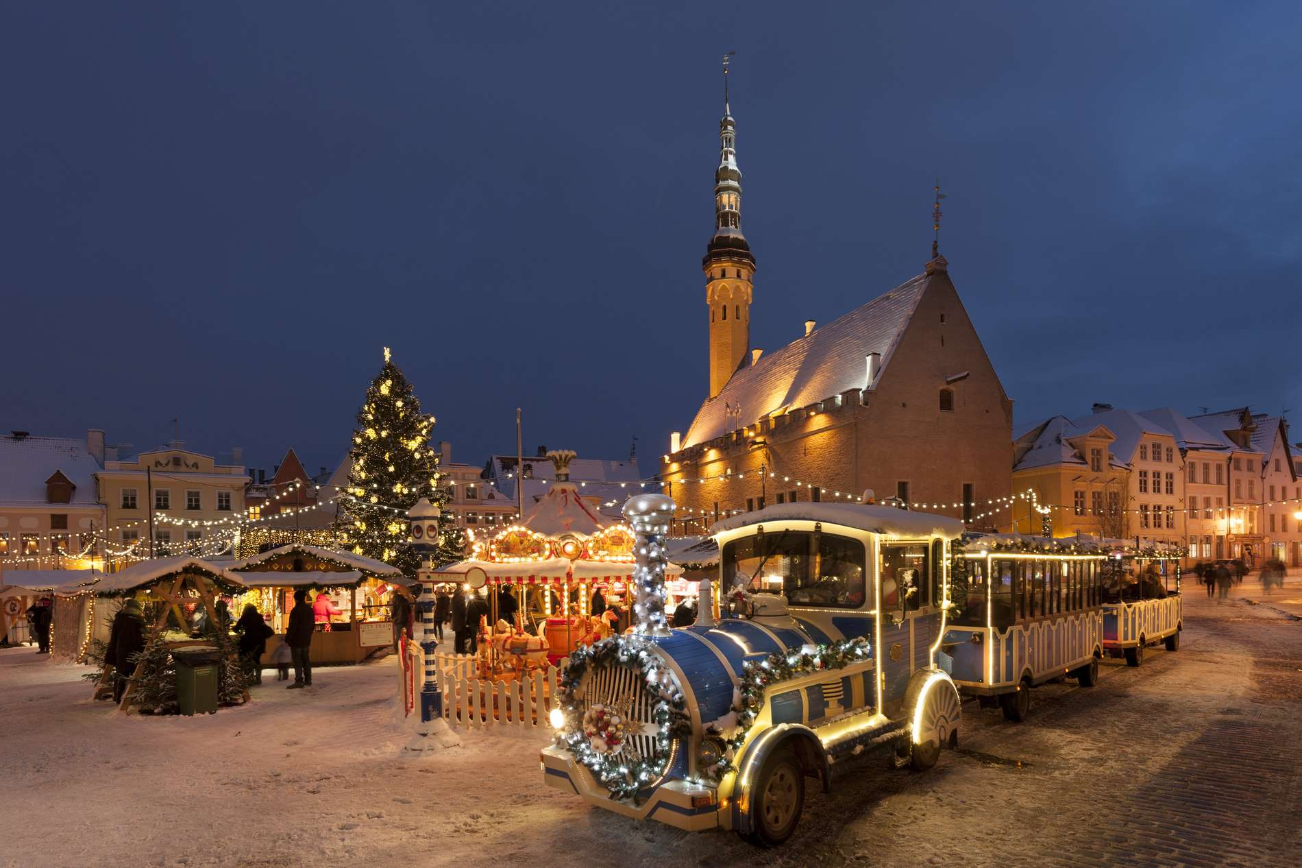 City Train in Tallinn, Estonia