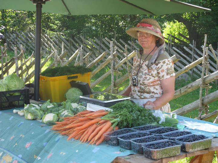 Viimsi taluturg in Estonia