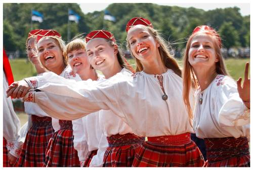 The 12th Estonian Youth Song and Dance Celebration