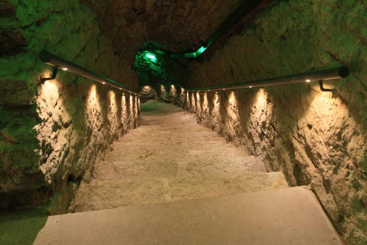Bastion Tunnels in Tallinn, Estonia
