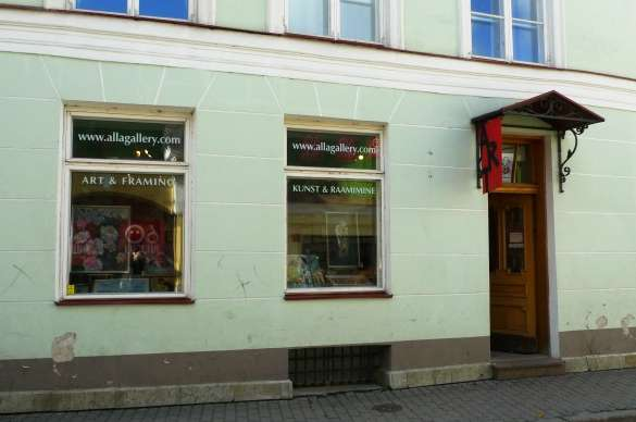 Alla Gallery in Tallinn,Estonia