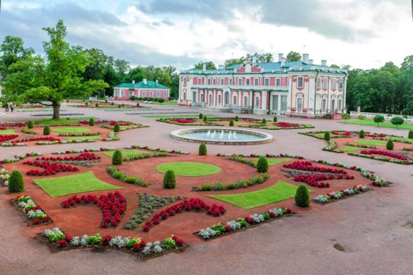Kadriorg Palace - Kadriorg Art Museum in Estonia