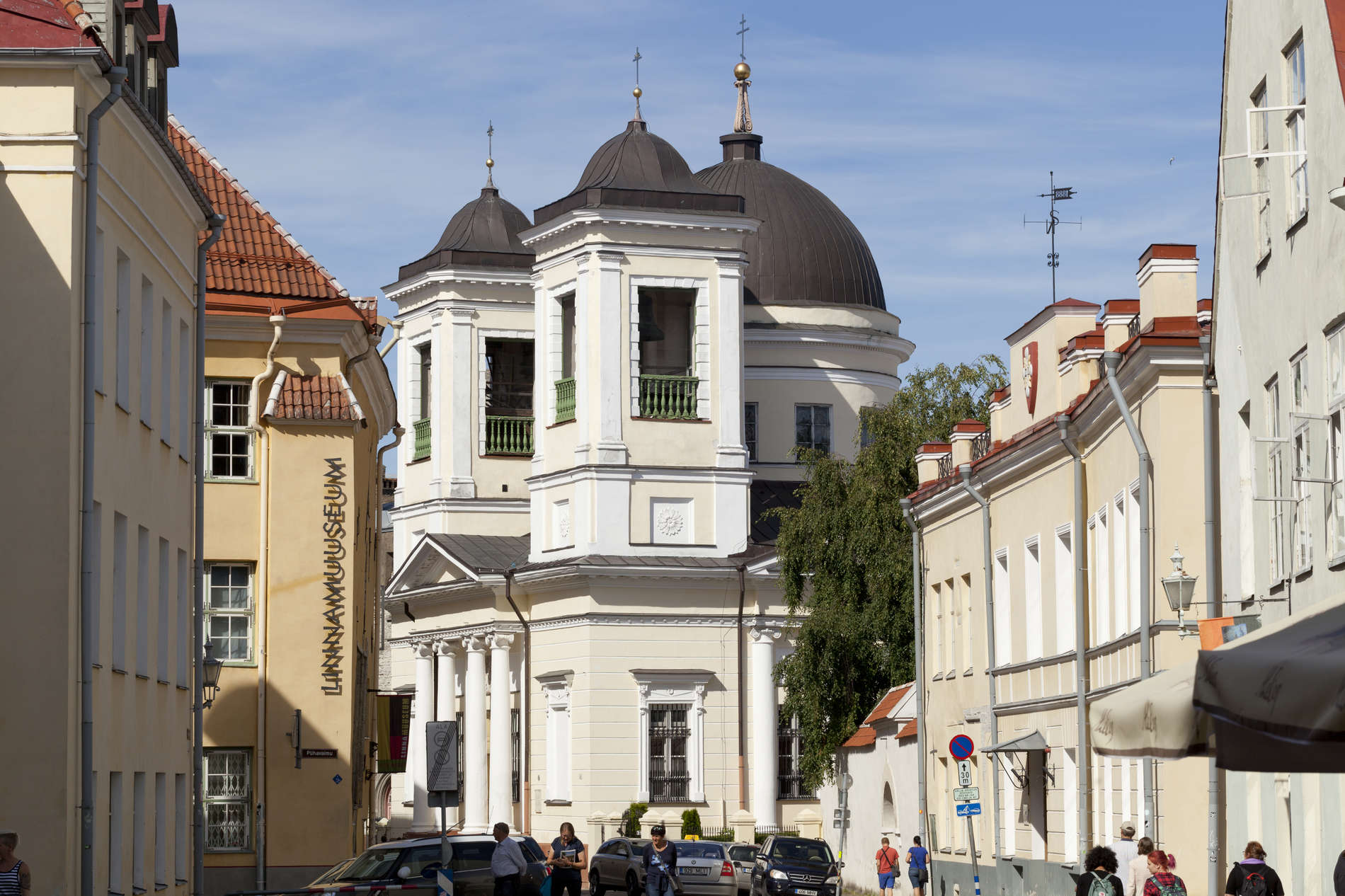 Orthodox Church of St. Nicholas in Tallinn, Estonia