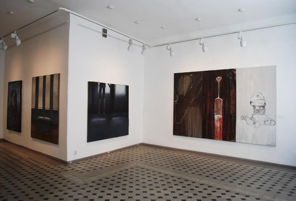 Näyttely Draakoni galleriassa Tallinnassa.