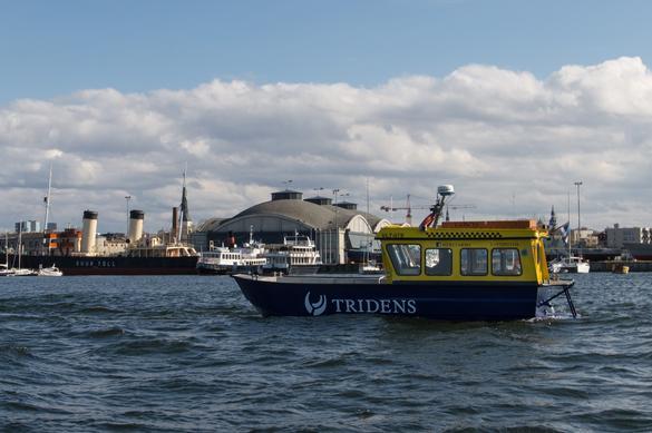 Sea Taxi Gundel near Seaplane Harbour, Estonia
