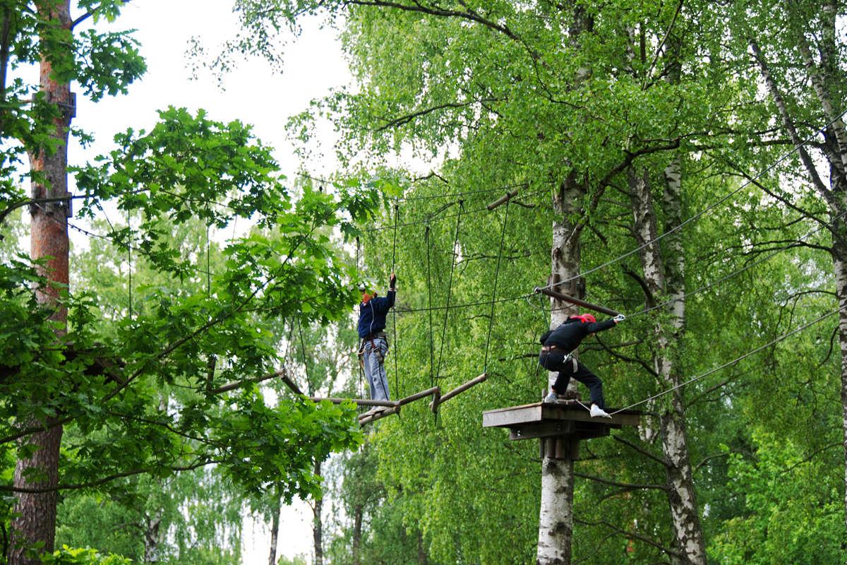 Nõmmen seikkailupuisto Tallinnassa
