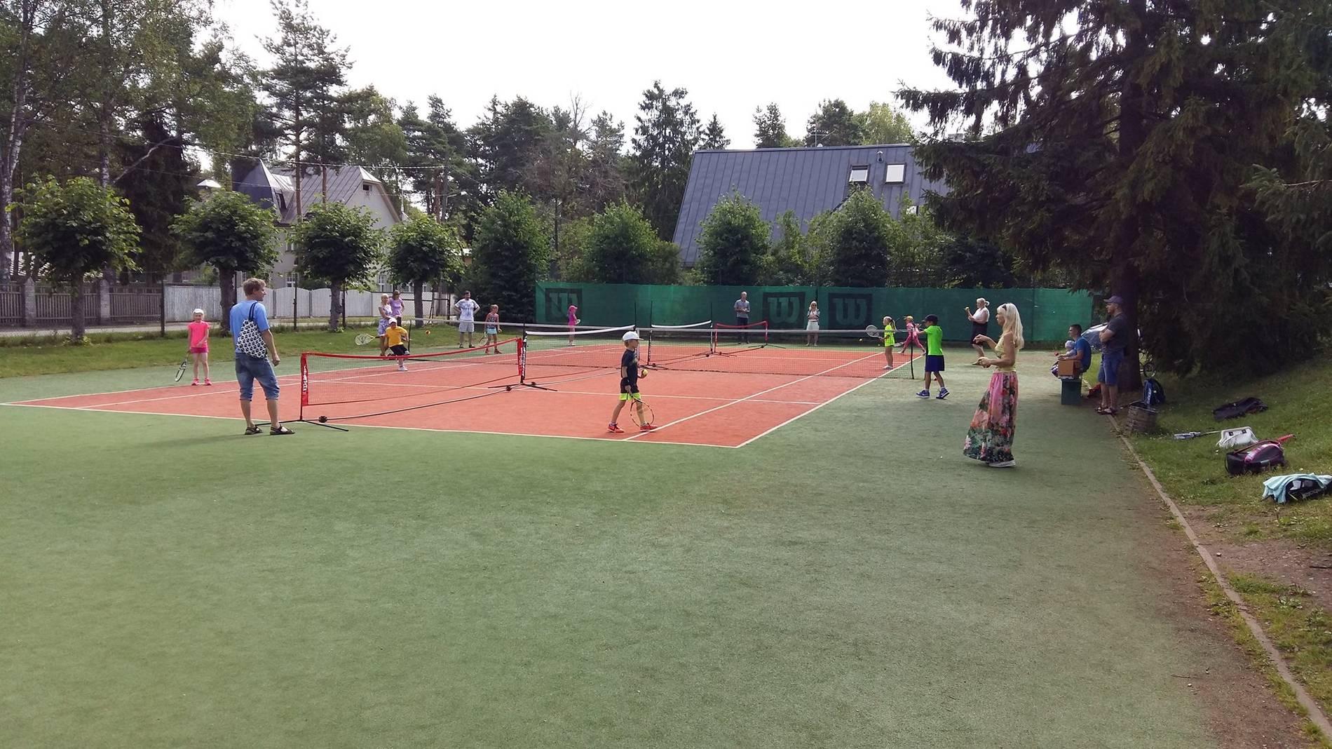 Nõmme Tennis Club in Tallinn,Estonia