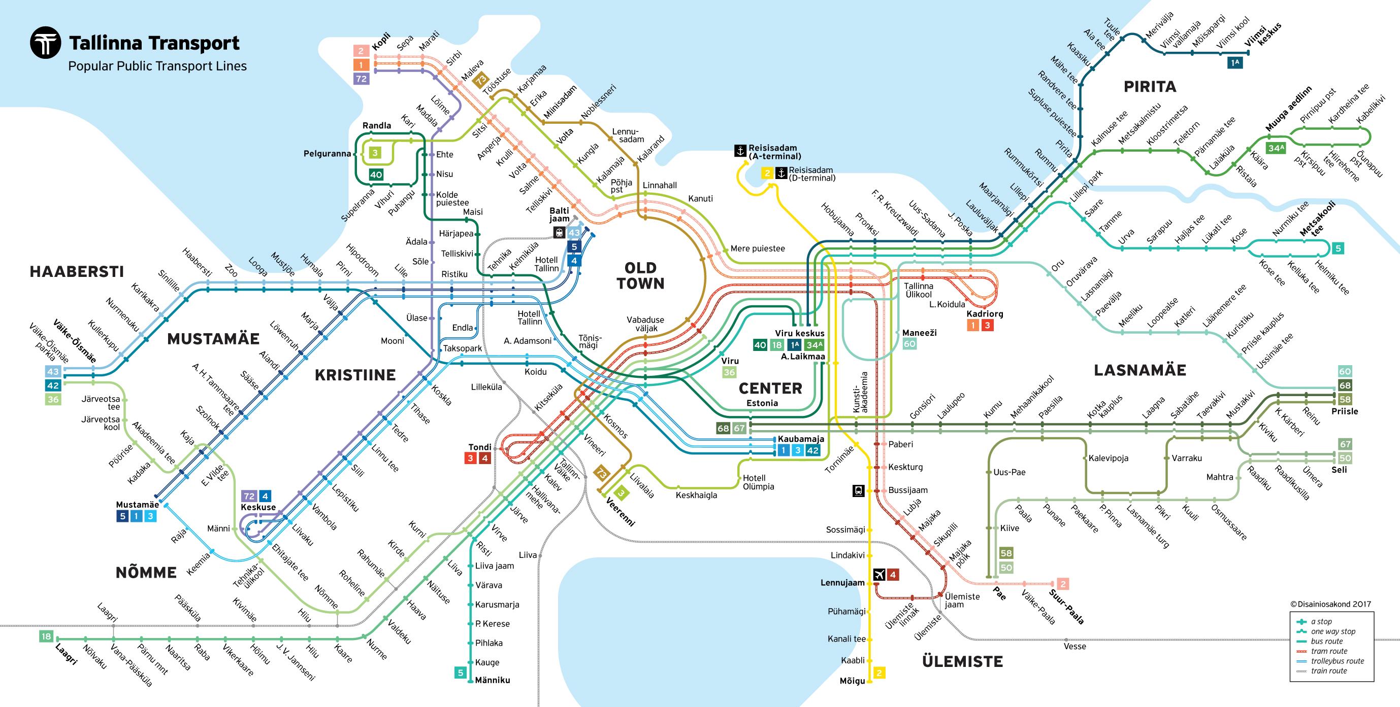 Public transport VisitTallinn