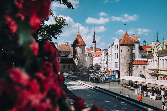 Tallinn in four seasons