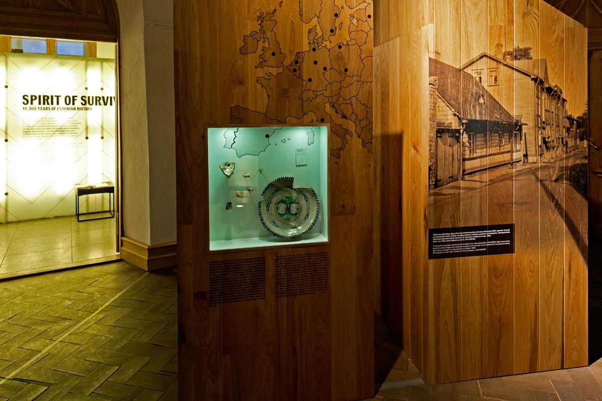 Viron Historiallinen Museo - Suurkillan talo vanhassa kaupungissa Tallinnassa Virossa