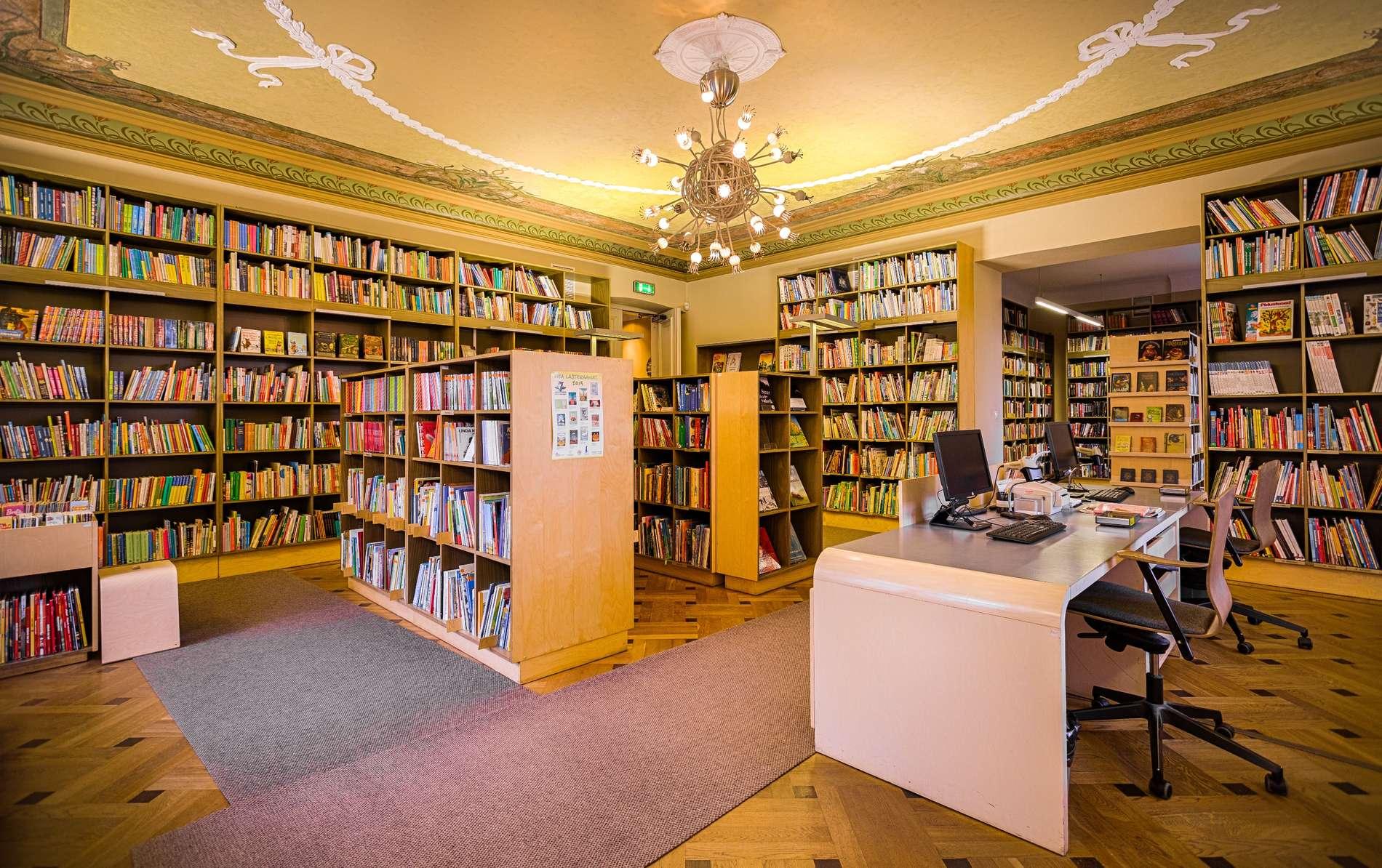 Viron lastenkirjallisuuden keskus Tallinnassa