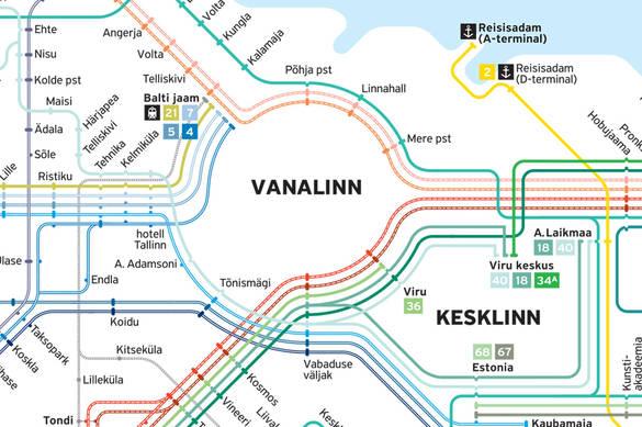 Transpordi kaart 2015 eesti