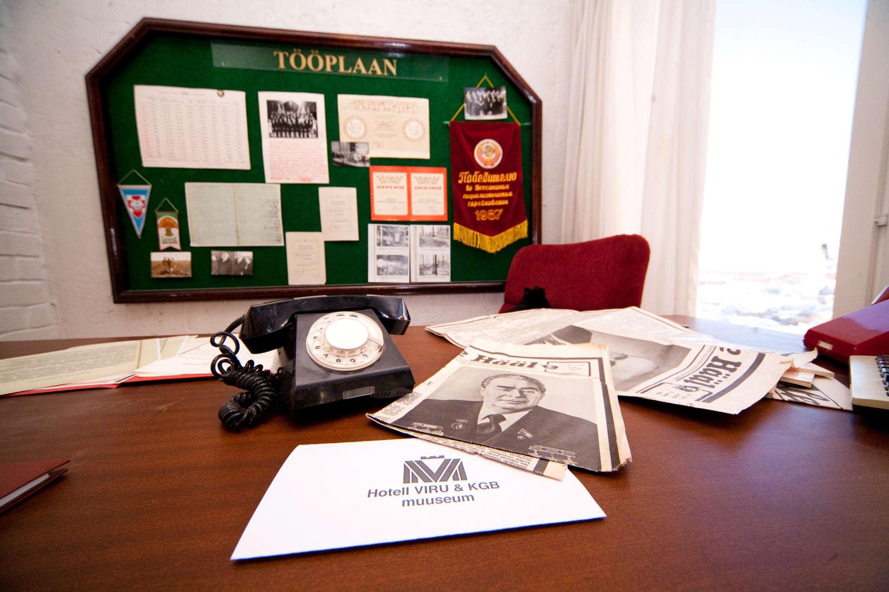 Hotel Viru & KGB Museum