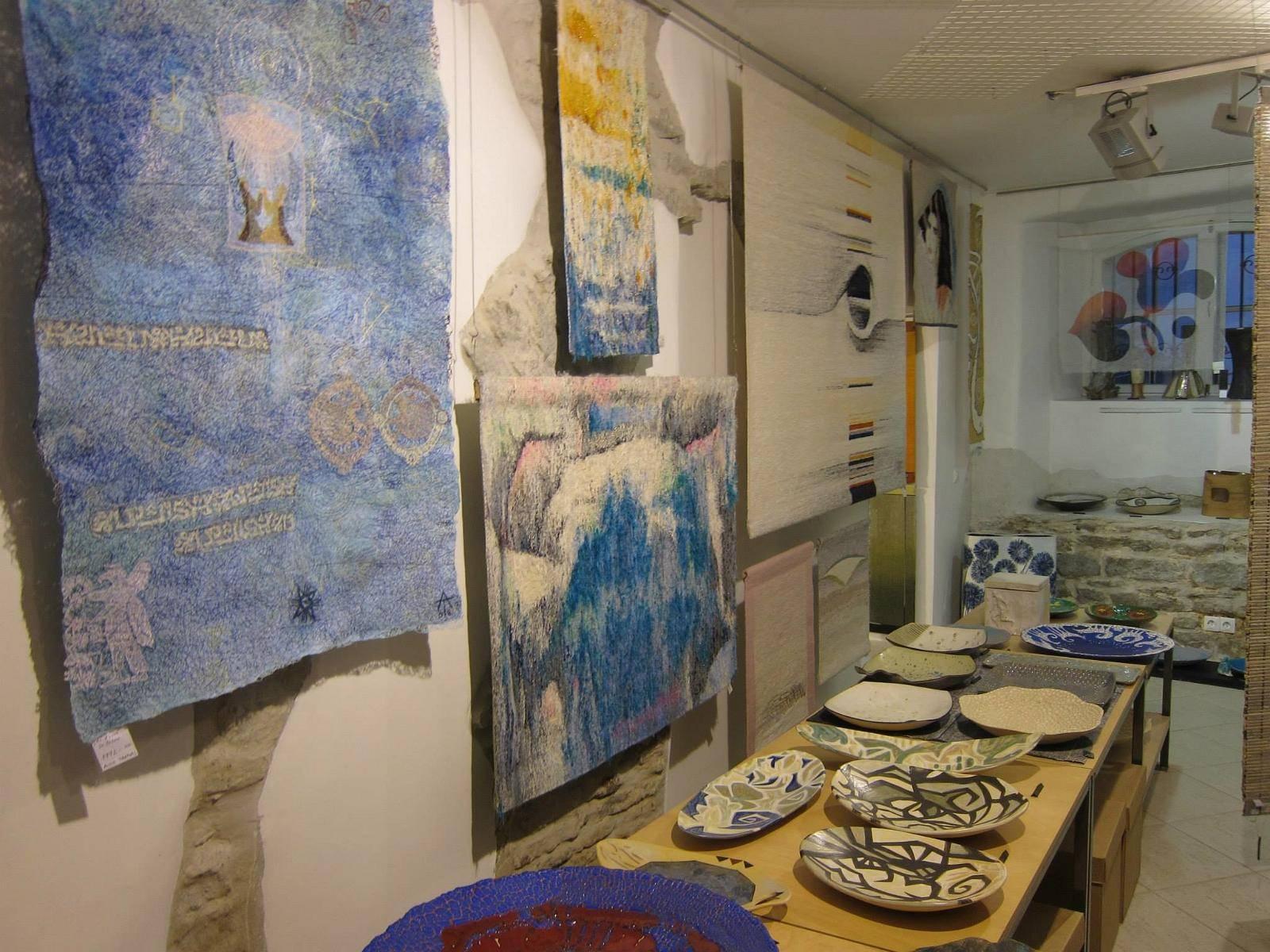 Lühikese Jala Gallery in Tallinn,Estonia