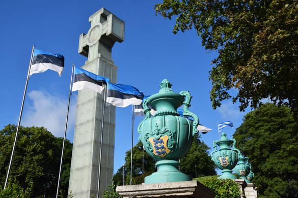 Tallinn on 20 August, the Day of Restoration of Independence