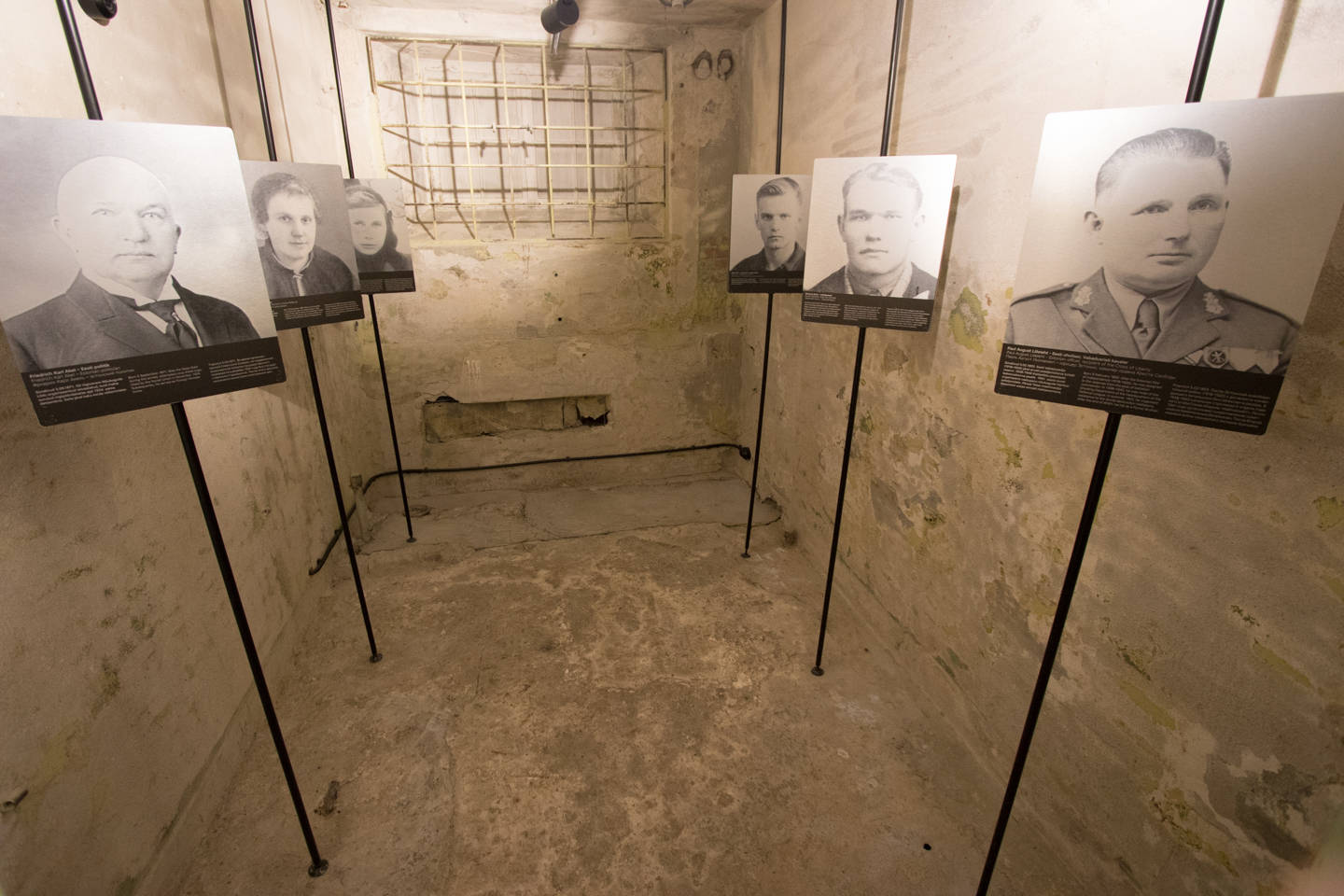 KGB Prison Cells in Tallinn, Estonia