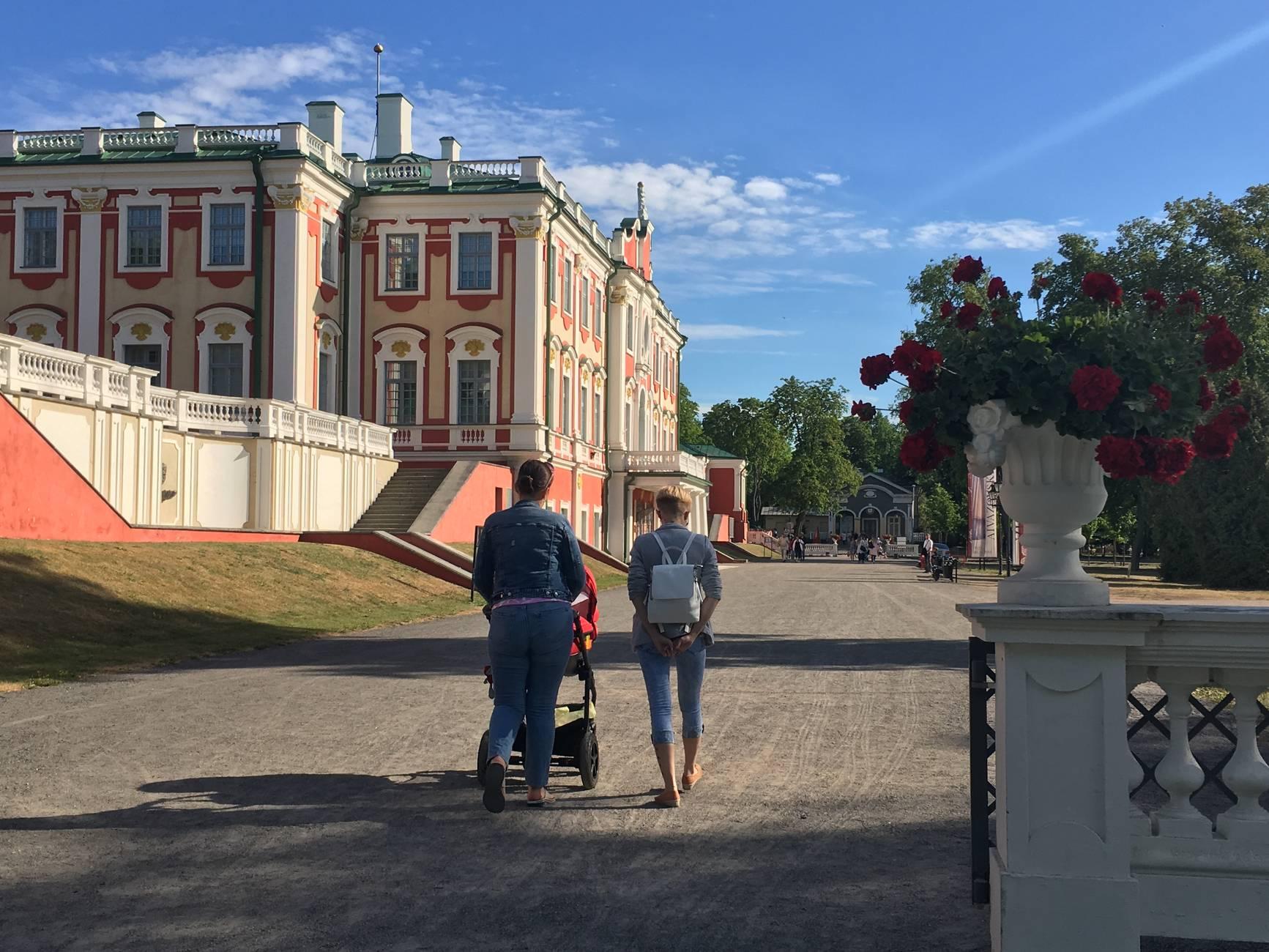 Kadriorg Palace - Kadriorg Art Museum in Tallinn, Estonia