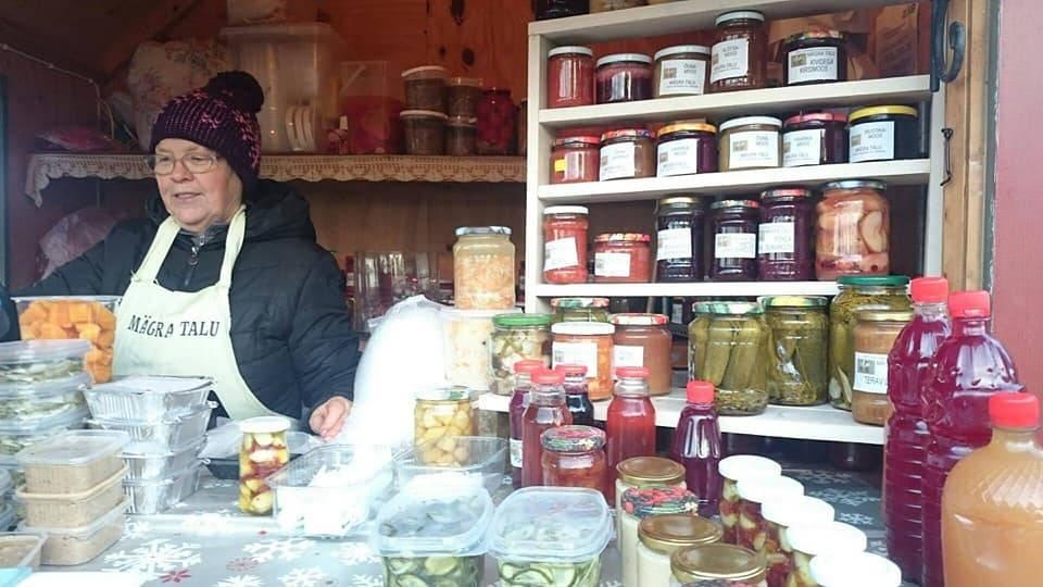 Viimsi taluturg in Tallinn,Estonia