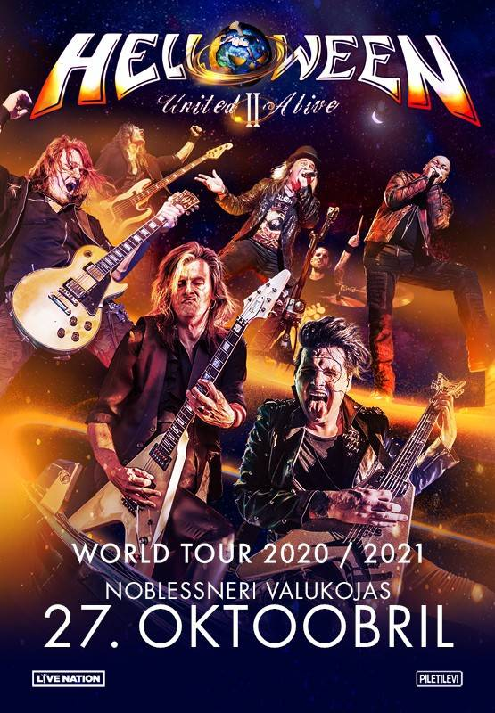 HELLOWEEN Pumpkins United - United Alive Part II Tour
