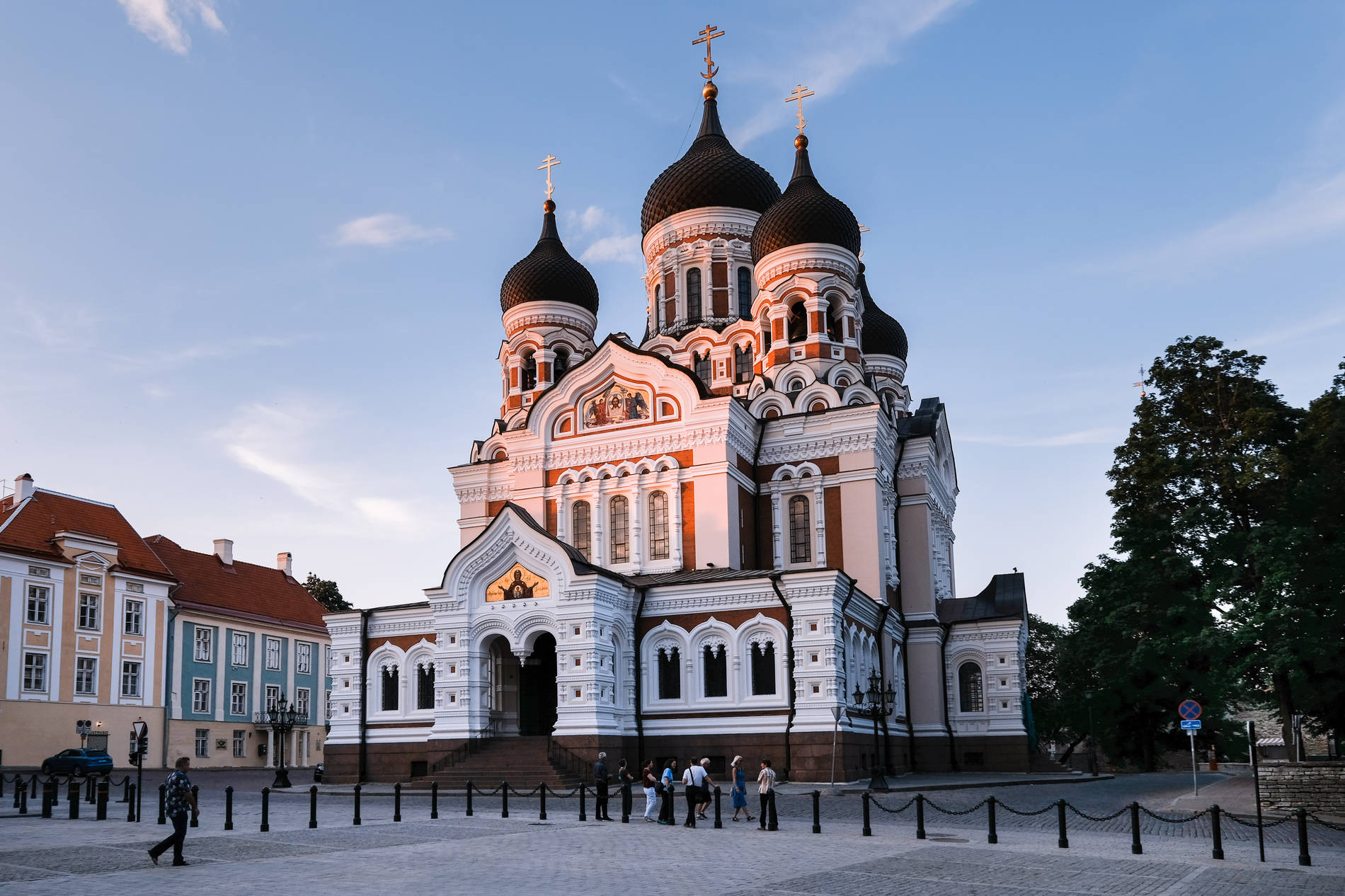 St. Alexander Nevsky Cathedral in Tallinn, Estonia