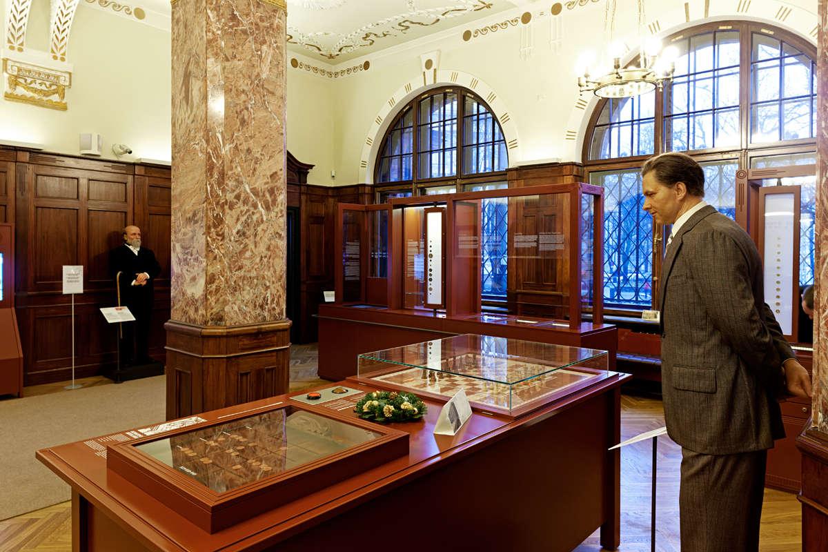Viron Pankin museon sisätilat Tallinnan keskustassa Virossa