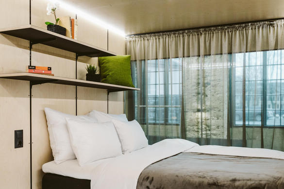Номер в контейнерной гостинице Hector Container Hotel, Теллискиви, Пыхья-Таллинн, Таллинн, Эстония