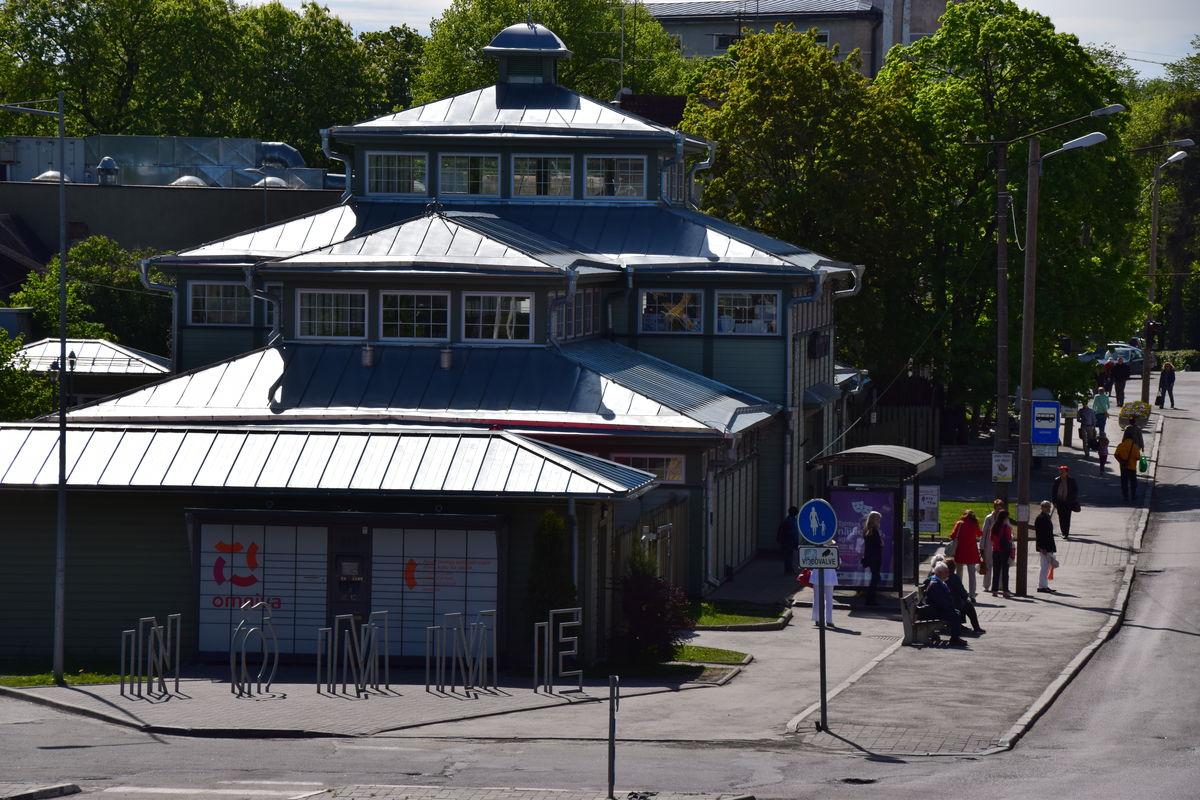 Nõmme Market in Tallinn, Estonia